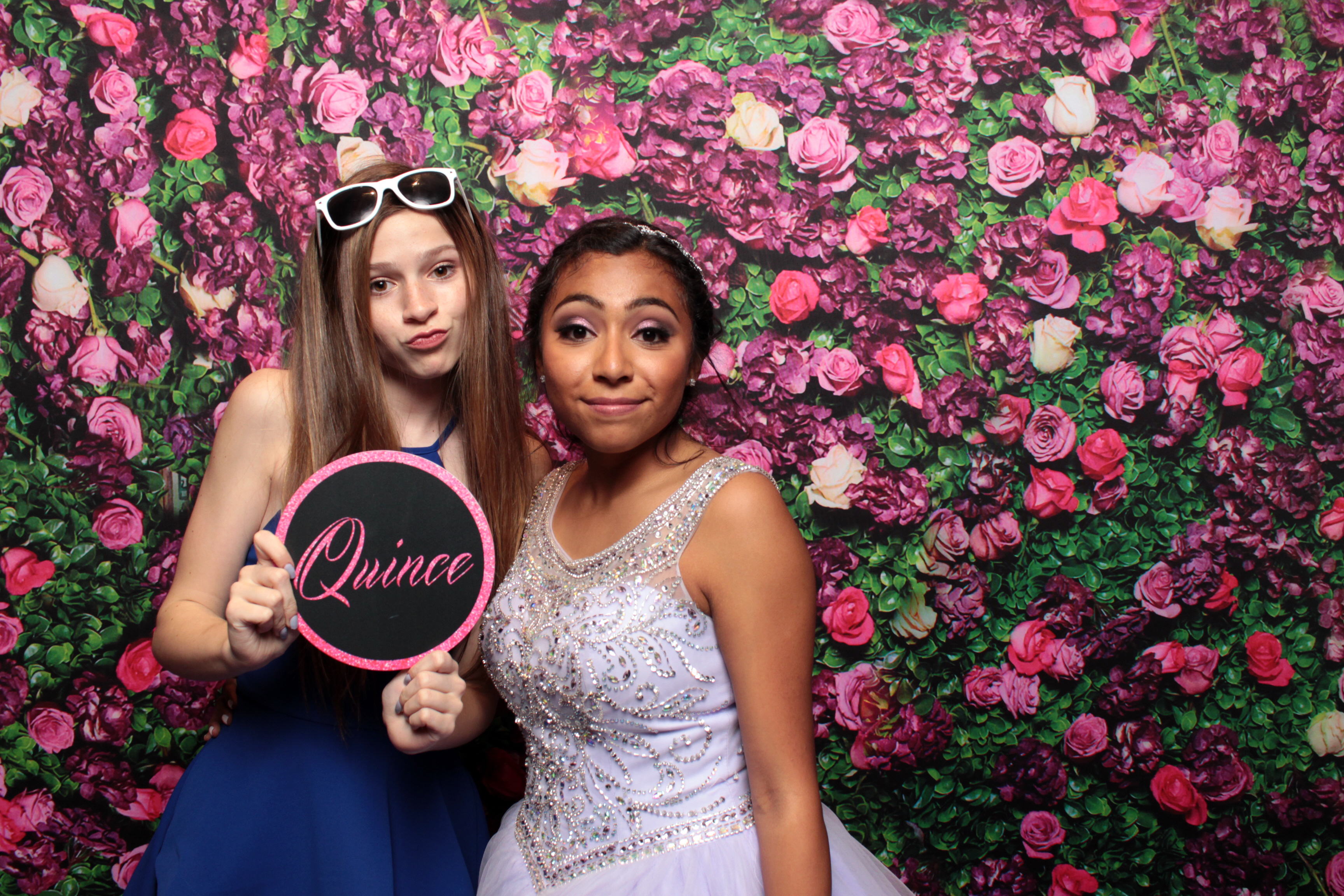 QUINCEANERA Photo booth Sample, Las Vegas