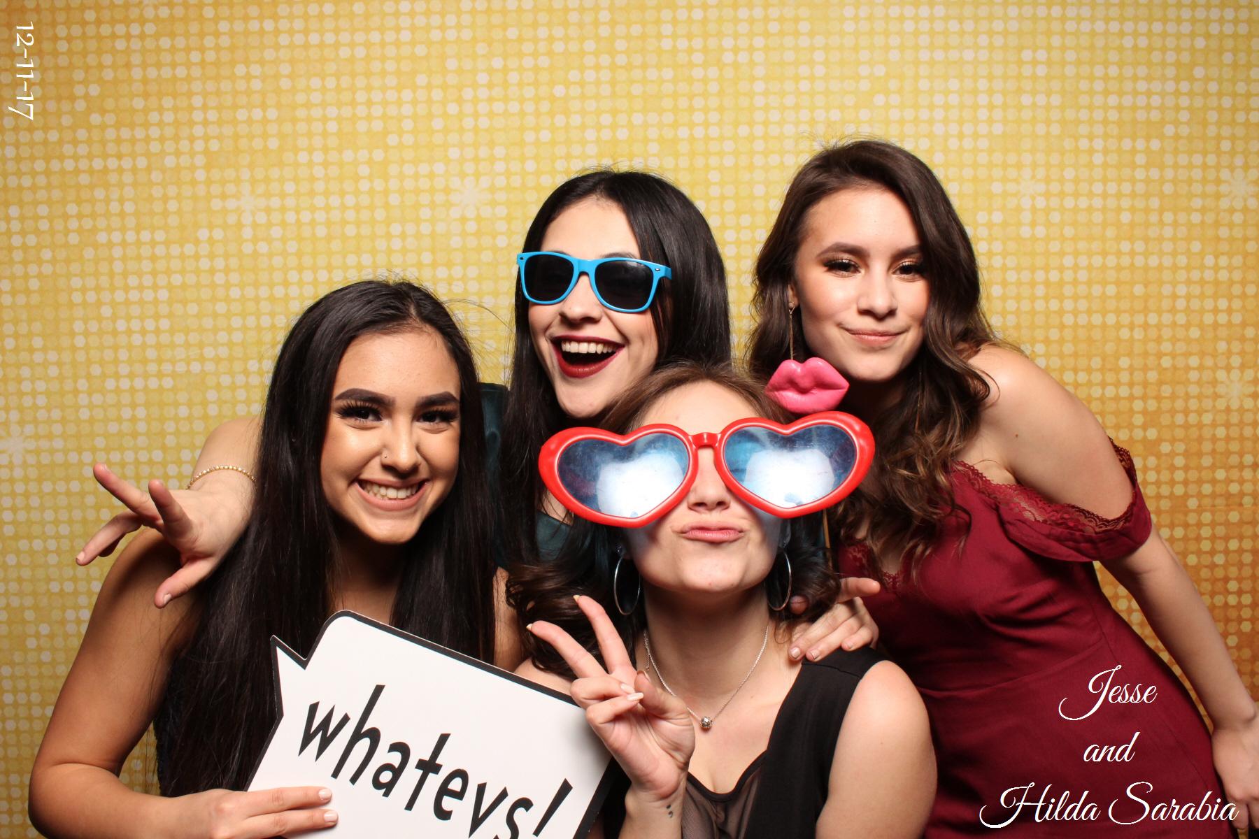 Prom Photo Booth Sample - Las Vegas