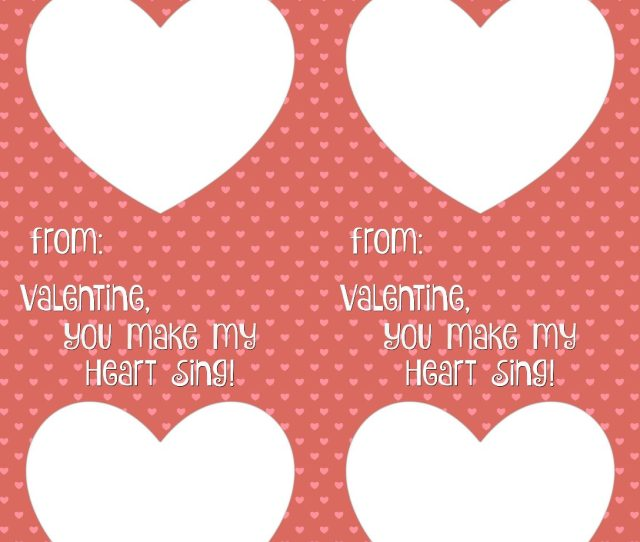Free Spec Tacular Valentine Card Printable Valentine You