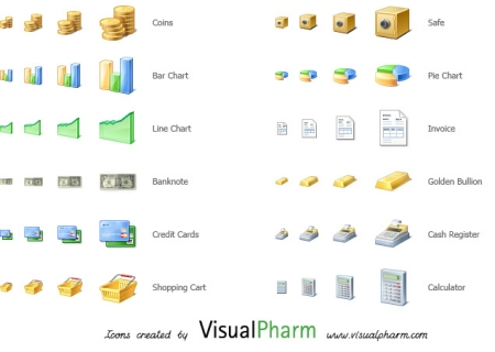 VisualPharm Finance Icons 35 High Quality Free Ecommerce Icons