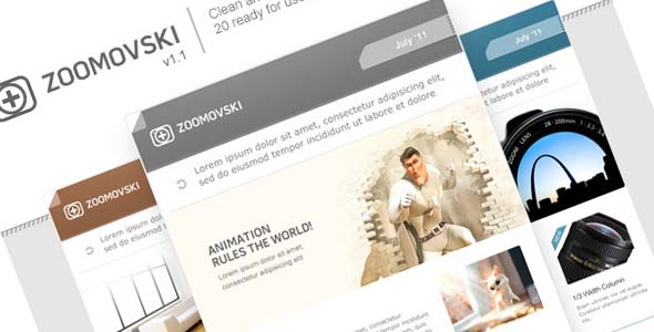 Zoomovski - Premium Email Template