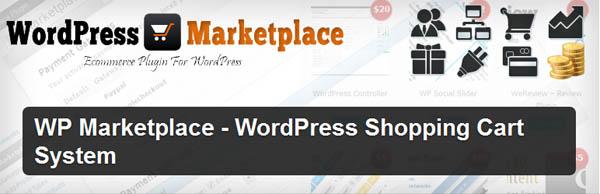 WP Marketplace - WordPress Shopping Cart System