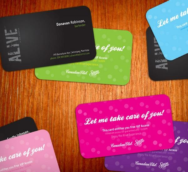 40 Colorful Business Cards Inspiration