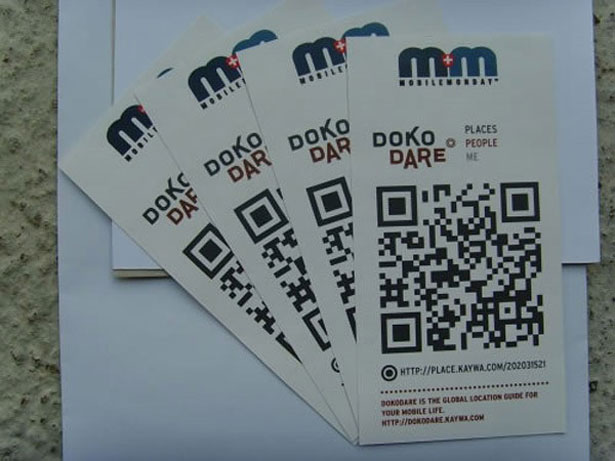 qr code business cards 22 50 Inspirational QR Code Business Cards