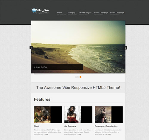 responsive wordpress themes 03 5 Free Responsive Portfolio WordPress Themes for September 2012