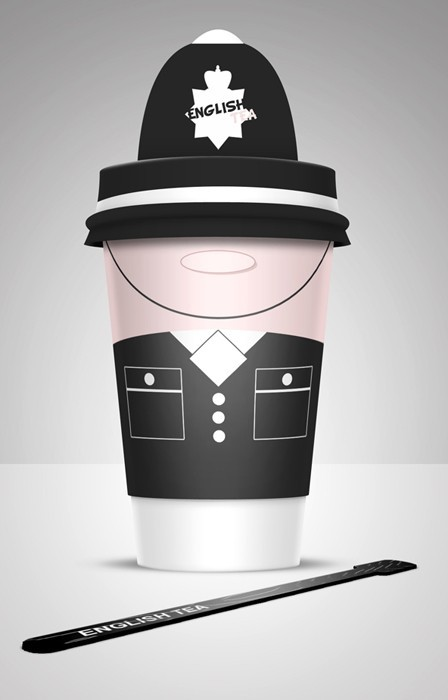 3 Coffee Cups Design Inspiration by Alex Litovka