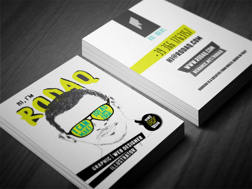 15 comic style business card for inspiration this business card reflects designer personality and at the same time cause a visual impact to be different from the standards the material is a 600g paper colourmoves