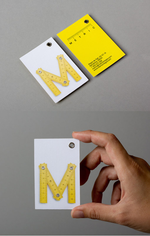 Business cards inspiration 8 brand identity and business card design for an architect firm and construction studio located in barcelona spain great use of color and a ruler to reheart Choice Image