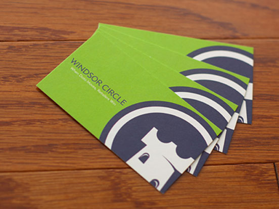 winsor circle business cards by joe warner