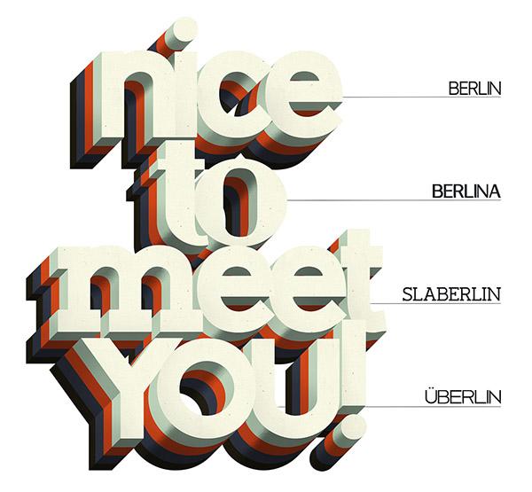 berlin 01 Berlin typeface by Antonio Rodrigues Jr Freebie #10