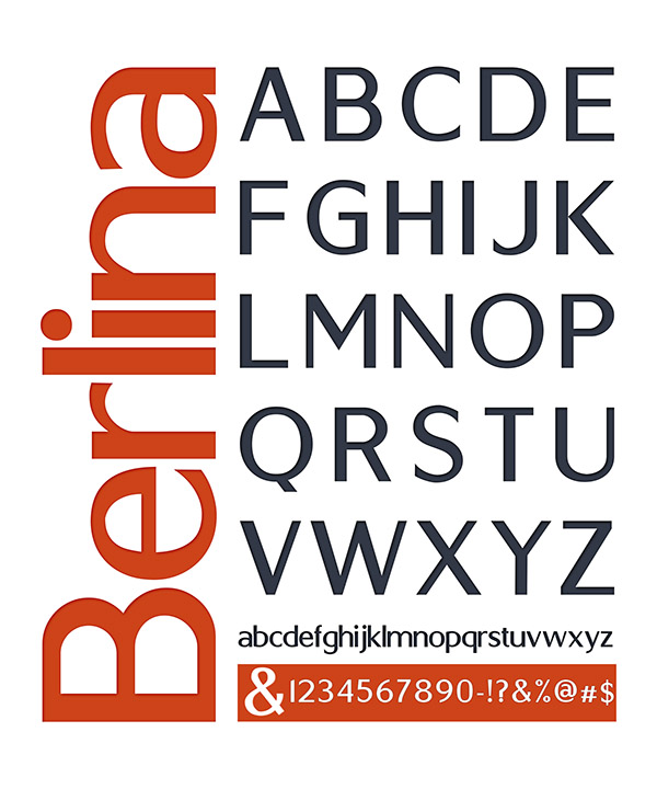 berlin 03 Berlin typeface by Antonio Rodrigues Jr Freebie #10