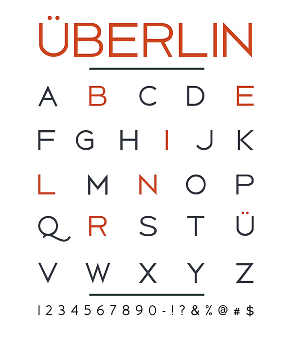 berlin 05 Berlin typeface by Antonio Rodrigues Jr Freebie #10