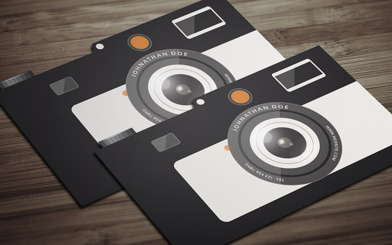 8 free photography business card templates professional photography business card template accmission Gallery