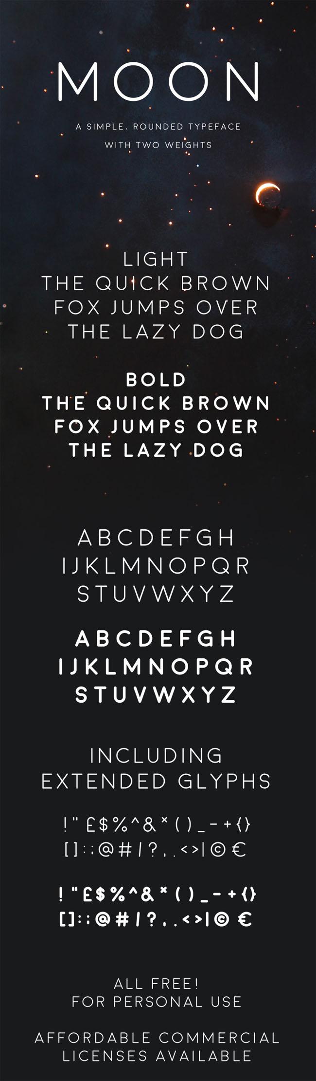 moon-font