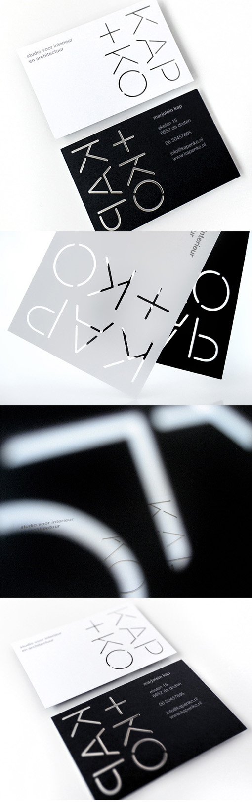 black-and-white-laser-cut-business-card-design