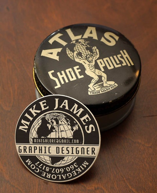 Shoe-Polish-Circle-Business-Card-Design
