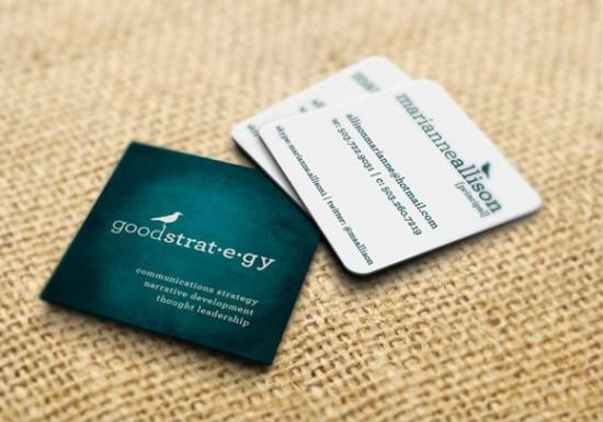 Square Business Cards Inspiration