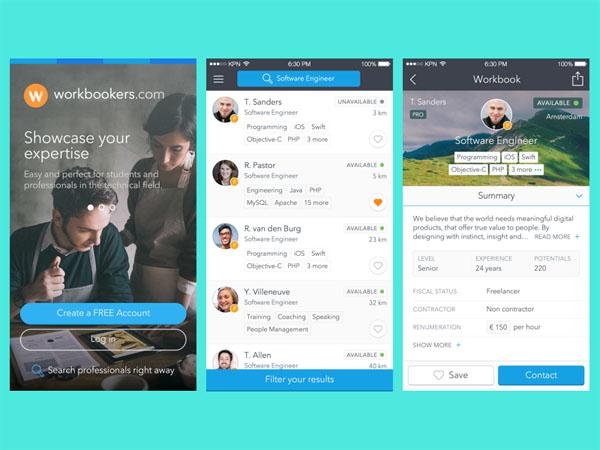 Workbookers iPhone App