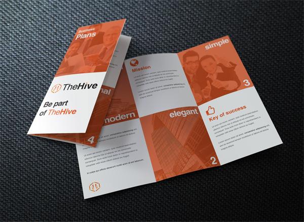 Flat Brochure Design 06