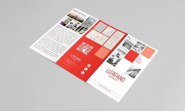 Flat Brochure Design 15