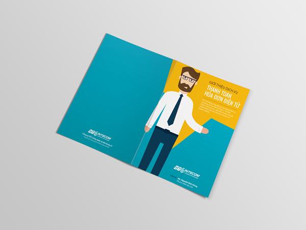 Flat Brochure Design 17