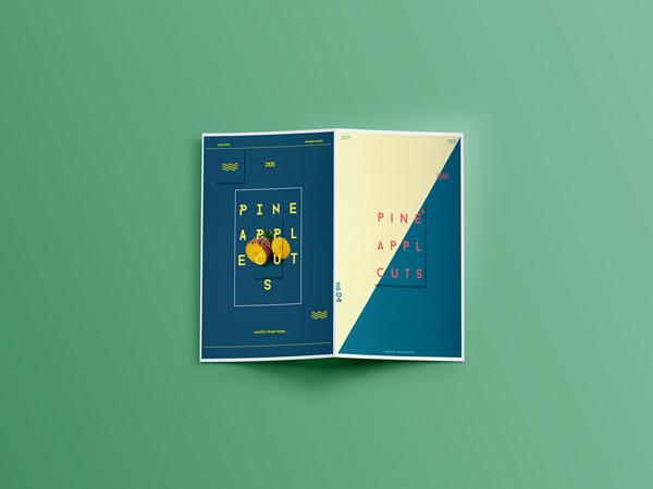 Flat Brochure Design 21