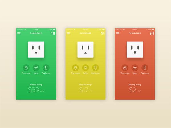 minimalist app ui 05