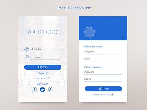 minimalist app ui 06
