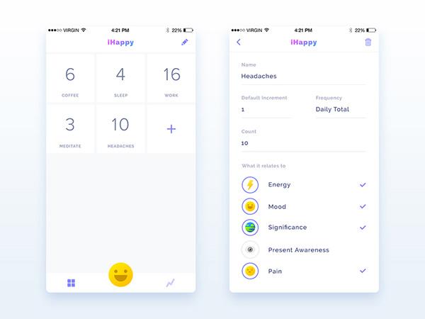 minimalist app ui 34