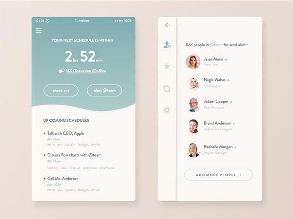 minimalist app ui 46