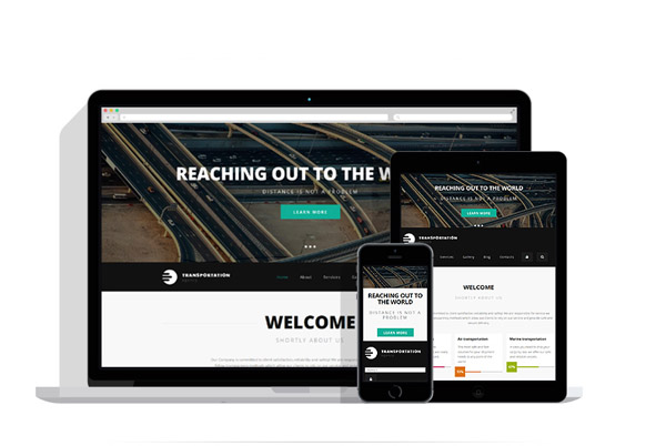 transportation drupal theme 04