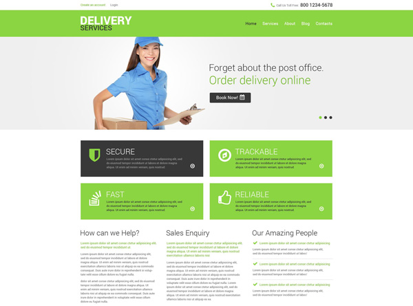 transportation drupal theme 06