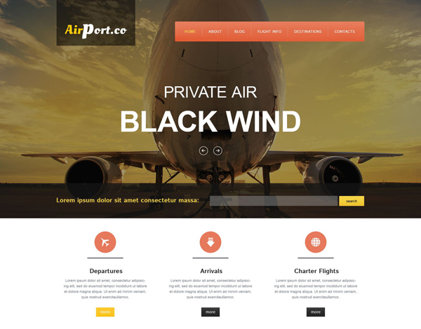 transportation drupal theme 07