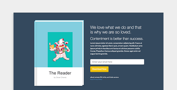 15 Most Powerful Ebook Landing Page Templates -