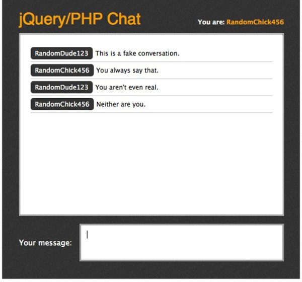 jQuery Chat 12