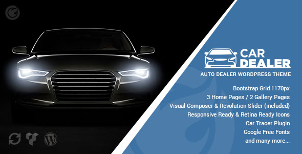 Car Dealer WordPress Theme 04