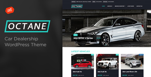 Car Dealer WordPress Theme 15
