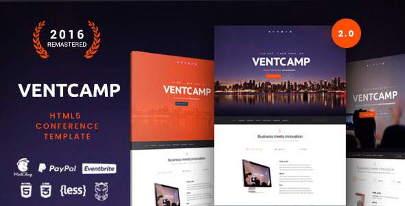 Conference Website Template 01