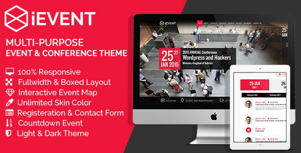 Conference Website Template 12
