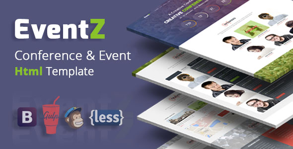 Conference Website Template 13