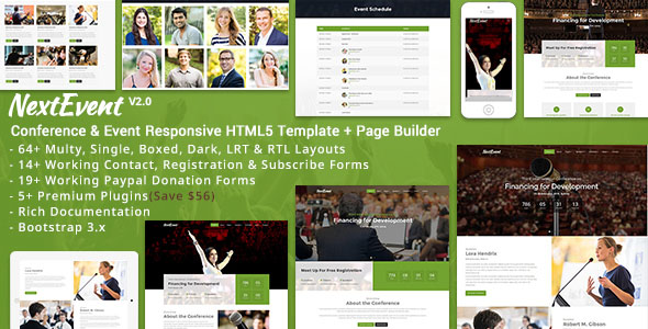 Conference Website Template 15