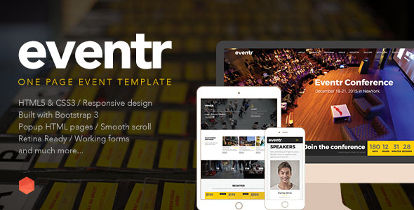Conference Website Template 20