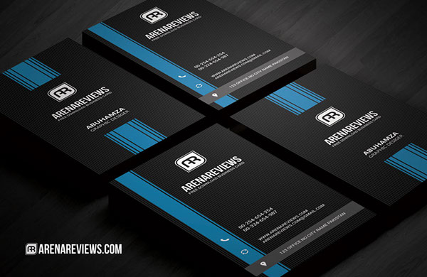 Free Vertical Business Card Template 09
