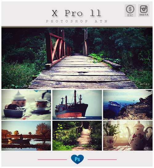 Instagram Effects Photoshop Action 15