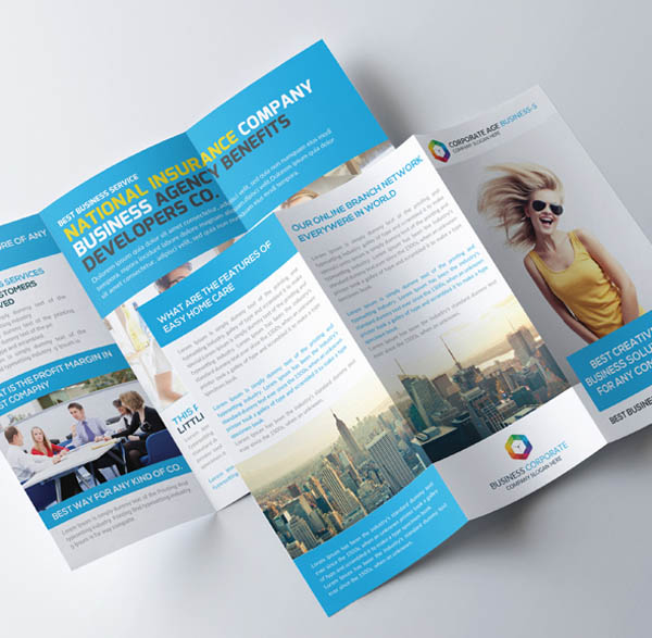 Free Trifold Brochure Templates You Should Download - Folded brochure template