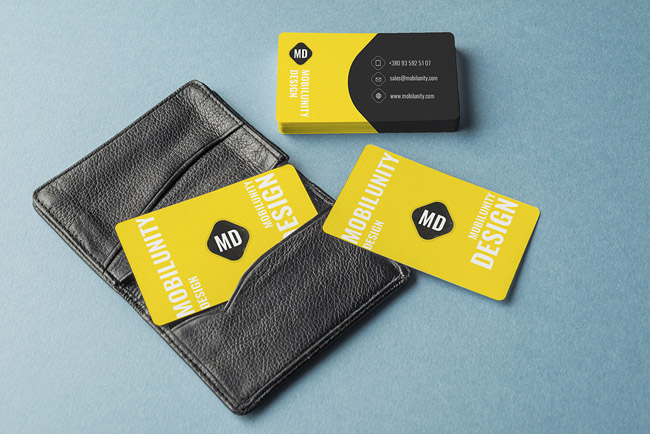 Free Business Cards Mockups 01