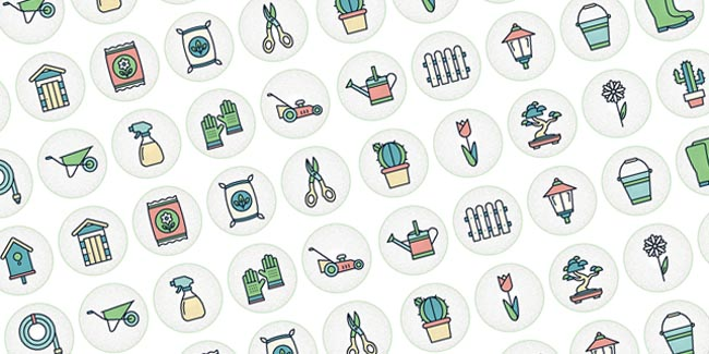 Free Gardening Icon Set 01