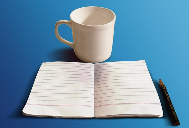 Free Sketch Book Mockup 03