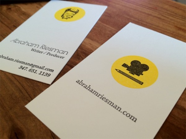 27 great examples of journalist business card design for Examples of good business cards