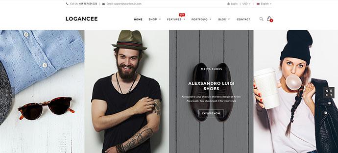 Ecommerce PSD Website Templates